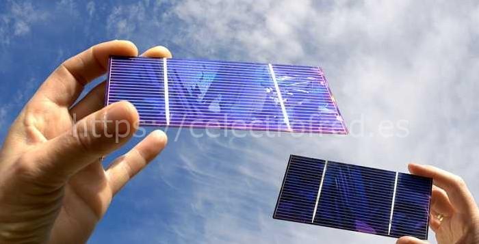 celulas fotovoltaicas de los paneles solares