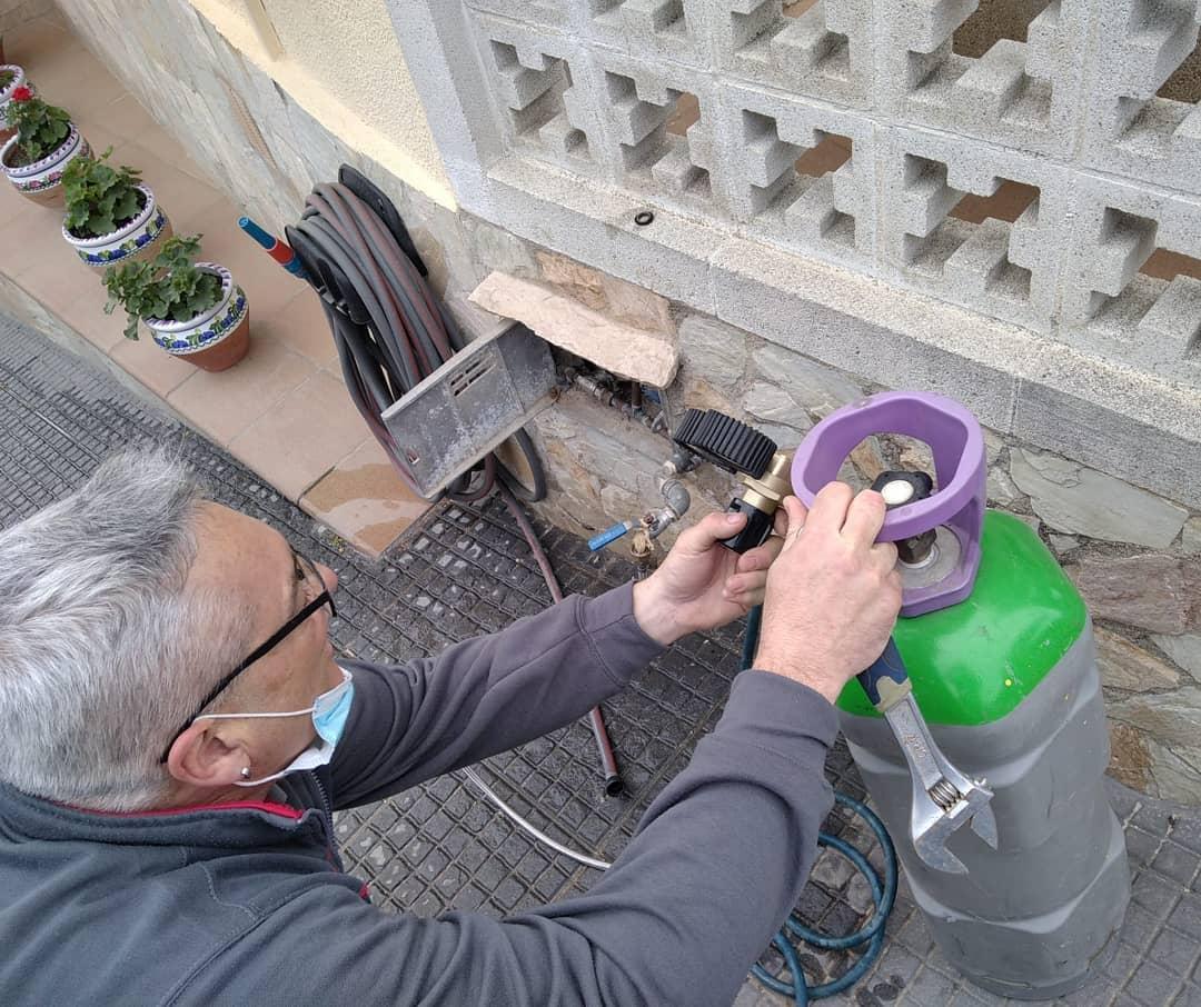 Reparación fuga de agua