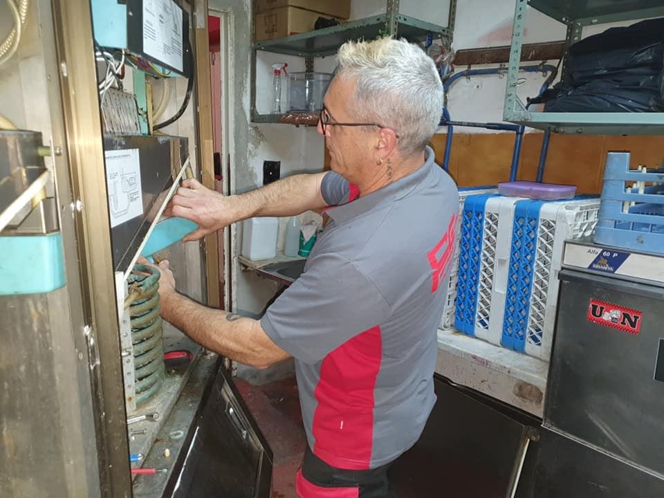 reparación máquina de hielo